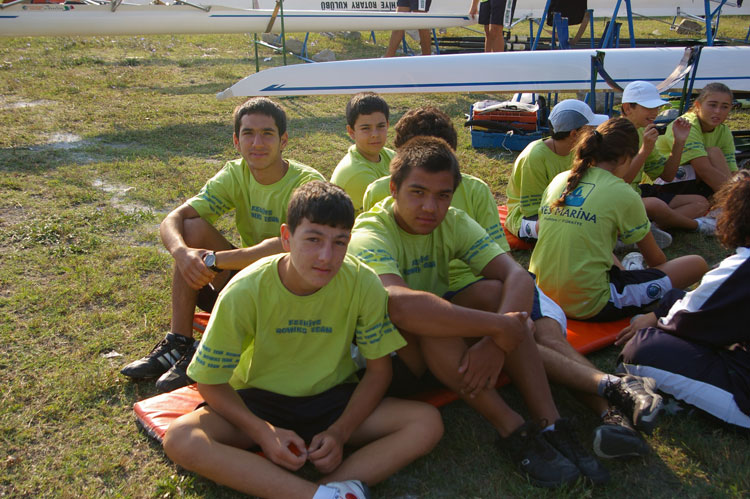 Fethiye Rowing Team in Yes Marina
