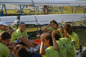 Fethiye Rowing Team in Yes Marina