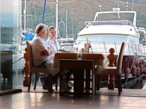 Yes Marina Restaurant in Fethiye Turkey